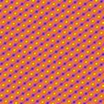 Vibrant Retro Diamond Pattern Storage Stool 12   Front
