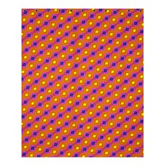 Vibrant Retro Diamond Pattern Shower Curtain 60  x 72  (Medium)