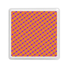 Vibrant Retro Diamond Pattern Memory Card Reader (Square)