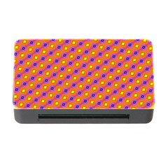 Vibrant Retro Diamond Pattern Memory Card Reader with CF