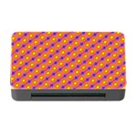 Vibrant Retro Diamond Pattern Memory Card Reader with CF Front