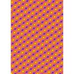 Vibrant Retro Diamond Pattern You Rock 3D Greeting Card (7x5) Inside