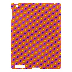 Vibrant Retro Diamond Pattern Apple iPad 3/4 Hardshell Case