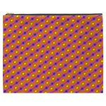 Vibrant Retro Diamond Pattern Cosmetic Bag (XXXL)  Front
