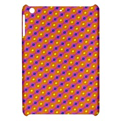 Vibrant Retro Diamond Pattern Apple Ipad Mini Hardshell Case by DanaeStudio