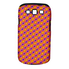 Vibrant Retro Diamond Pattern Samsung Galaxy S Iii Classic Hardshell Case (pc+silicone) by DanaeStudio