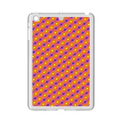 Vibrant Retro Diamond Pattern Ipad Mini 2 Enamel Coated Cases by DanaeStudio