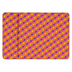 Vibrant Retro Diamond Pattern Samsung Galaxy Tab 8.9  P7300 Flip Case