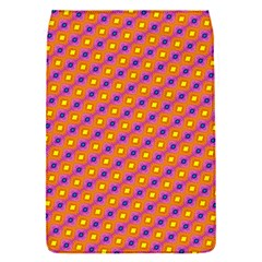 Vibrant Retro Diamond Pattern Flap Covers (S)