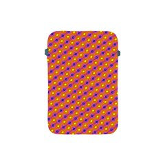 Vibrant Retro Diamond Pattern Apple Ipad Mini Protective Soft Cases by DanaeStudio