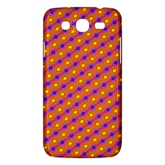 Vibrant Retro Diamond Pattern Samsung Galaxy Mega 5.8 I9152 Hardshell Case