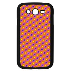 Vibrant Retro Diamond Pattern Samsung Galaxy Grand Duos I9082 Case (black)