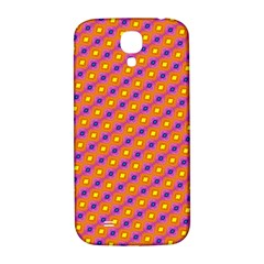 Vibrant Retro Diamond Pattern Samsung Galaxy S4 I9500/I9505  Hardshell Back Case