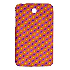 Vibrant Retro Diamond Pattern Samsung Galaxy Tab 3 (7 ) P3200 Hardshell Case