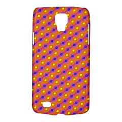 Vibrant Retro Diamond Pattern Galaxy S4 Active by DanaeStudio