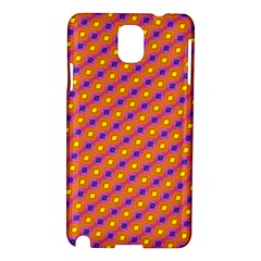 Vibrant Retro Diamond Pattern Samsung Galaxy Note 3 N9005 Hardshell Case