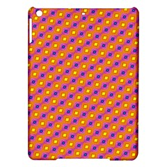 Vibrant Retro Diamond Pattern Ipad Air Hardshell Cases by DanaeStudio
