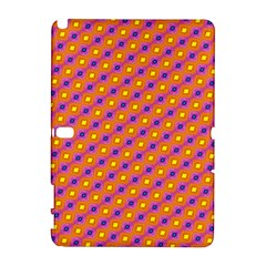 Vibrant Retro Diamond Pattern Samsung Galaxy Note 10 1 (p600) Hardshell Case by DanaeStudio