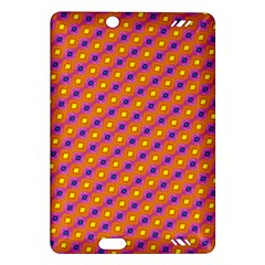 Vibrant Retro Diamond Pattern Amazon Kindle Fire Hd (2013) Hardshell Case by DanaeStudio