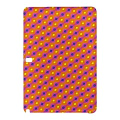 Vibrant Retro Diamond Pattern Samsung Galaxy Tab Pro 10.1 Hardshell Case