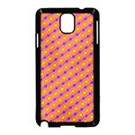 Vibrant Retro Diamond Pattern Samsung Galaxy Note 3 Neo Hardshell Case (Black) Front