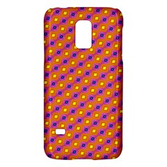 Vibrant Retro Diamond Pattern Galaxy S5 Mini