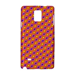 Vibrant Retro Diamond Pattern Samsung Galaxy Note 4 Hardshell Case