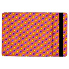 Vibrant Retro Diamond Pattern iPad Air 2 Flip