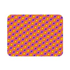 Vibrant Retro Diamond Pattern Double Sided Flano Blanket (Mini)