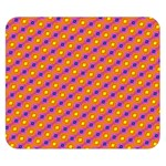 Vibrant Retro Diamond Pattern Double Sided Flano Blanket (Small)  50 x40 Blanket Back