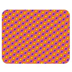 Vibrant Retro Diamond Pattern Double Sided Flano Blanket (Medium)