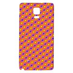 Vibrant Retro Diamond Pattern Galaxy Note 4 Back Case