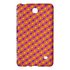 Vibrant Retro Diamond Pattern Samsung Galaxy Tab 4 (7 ) Hardshell Case  by DanaeStudio