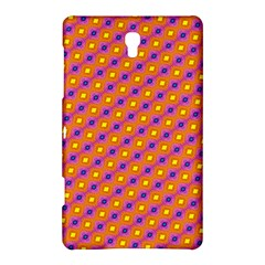 Vibrant Retro Diamond Pattern Samsung Galaxy Tab S (8.4 ) Hardshell Case