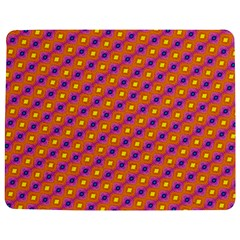 Vibrant Retro Diamond Pattern Jigsaw Puzzle Photo Stand (Rectangular)
