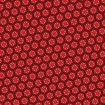 Red Passion Floral Pattern PARTY 3D Greeting Card (8x4) Inside