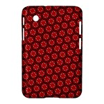 Red Passion Floral Pattern Samsung Galaxy Tab 2 (7 ) P3100 Hardshell Case