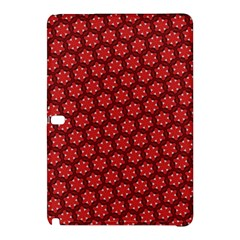 Red Passion Floral Pattern Samsung Galaxy Tab Pro 10 1 Hardshell Case