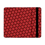 Red Passion Floral Pattern Samsung Galaxy Tab Pro 8.4  Flip Case
