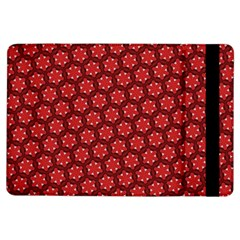 Red Passion Floral Pattern Ipad Air Flip by DanaeStudio