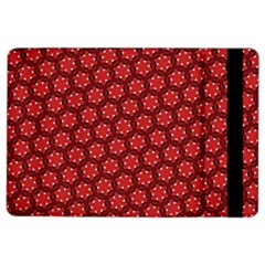 Red Passion Floral Pattern Ipad Air 2 Flip by DanaeStudio