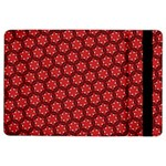 Red Passion Floral Pattern iPad Air 2 Flip