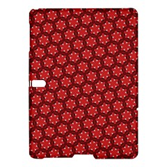 Red Passion Floral Pattern Samsung Galaxy Tab S (10 5 ) Hardshell Case