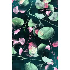 Modern Green And Pink Leaves 5 5  X 8 5  Notebooks by DanaeStudio