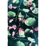 Modern Green And Pink Leaves 5.5  x 8.5  Notebooks