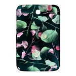 Modern Green And Pink Leaves Samsung Galaxy Note 8.0 N5100 Hardshell Case