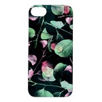 Modern Green And Pink Leaves Apple iPhone 5S/ SE Hardshell Case
