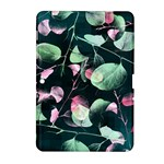 Modern Green And Pink Leaves Samsung Galaxy Tab 2 (10.1 ) P5100 Hardshell Case