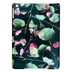Modern Green And Pink Leaves Ipad Air Hardshell Cases