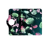 Modern Green And Pink Leaves Kindle Fire HD (2013) Flip 360 Case
